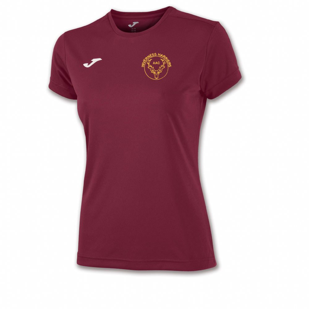COMBI T-SHIRT WOMAN MAROON